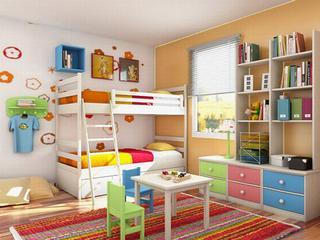 яркий ковер для детской комнаты